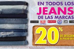 Suburbia 20% de descuento en jeans seleccionados