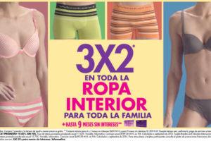 Suburbia 3×2 en toda la ropa interior del 14 al 19 de Septiembre