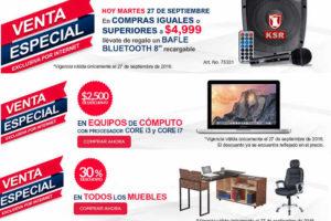 Venta Especial Office Depot Online Bocina Gratis