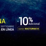 Venta Nocturna Club Premier Septiembre 2016