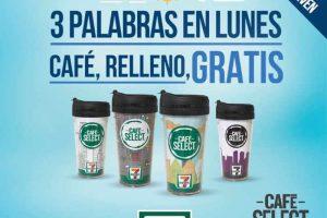 7 Eleven relleno de café gratis todos los lunes