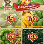 Frutas y verduras Bodega Aurrera Octubre