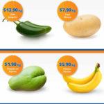 Frutas y verduras Chedraui Octubre