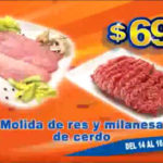 Chedraui ofertas de carnes 14 al 16 de octubre