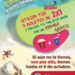 Cinemex Canjea tu tarjeta vacía de Verano por combo gratis