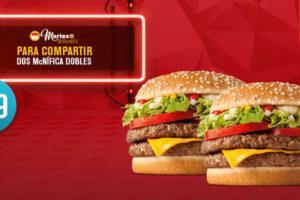 Cupones Martes de McDonald's 18 de octubre 2016