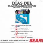 Días del Tarjetahabiente Sears del 21 al 25 de Octubre
