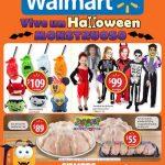 Folleto Walmart Ofertas de Halloween 2016