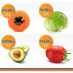 Frutas y Verduras Chedraui 11 y 12 de Octubre
