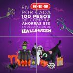 HEB $30 de descuento en decoración de Halloween