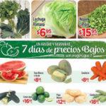 Frutas y Verduras HEB Octubre