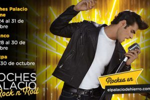 Promoción Noches Palacio Rock and Roll El Palacio de Hierro