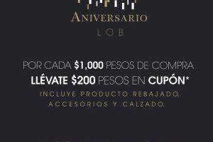 Promoción de Aniversario LOB
