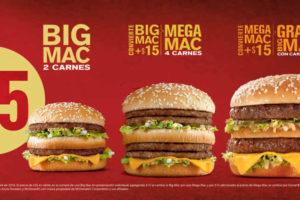 Promociones McDonald's Big Mac y McTrios