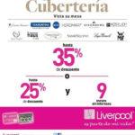 Quincena de la Cubertería Liverpool 2016