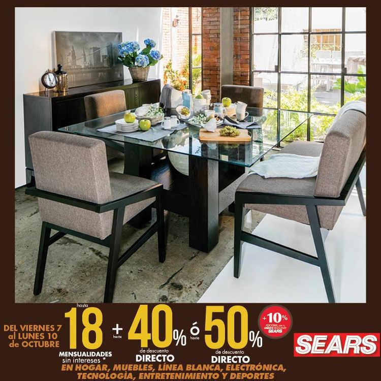 Sears: hasta 50% de descuento en hogar, muebles, línea blanca y ...