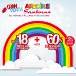 Venta arcoíris Sanborns del 7 al 17 de Octubre 2016