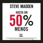 El Buen Fin 2016 en Steve Madden