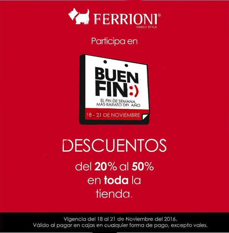 El Buen Fin 2016 en Ferrioni