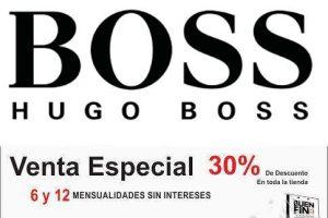 Promociones del Buen Fin 2016 en Hugo Boss