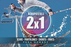 Aéropostale 2×1 en jeans, pantalones, shorts y pants para caballero