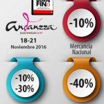 Ofertas del Buen Fin 2016 en Andanzza