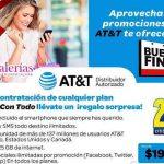 Ofertas del Buen Fin 2016 en AT&T