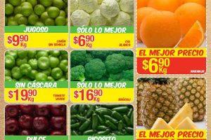Frutas y Verduras Bodega Aurrerá Noviembre