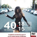 El Buen Fin 2016 en Women'secret, BEBE y Armani