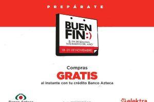 Promociones Banco Azteca El Buen Fin 2016