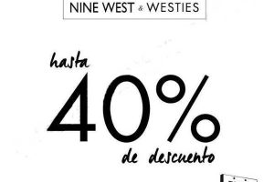 El Buen Fin 2016 en Nine West & Westies