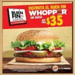 Promociones del Buen Fin 2016 Burger King