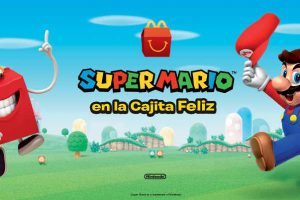 Cajita Feliz McDonald's de Super Mario