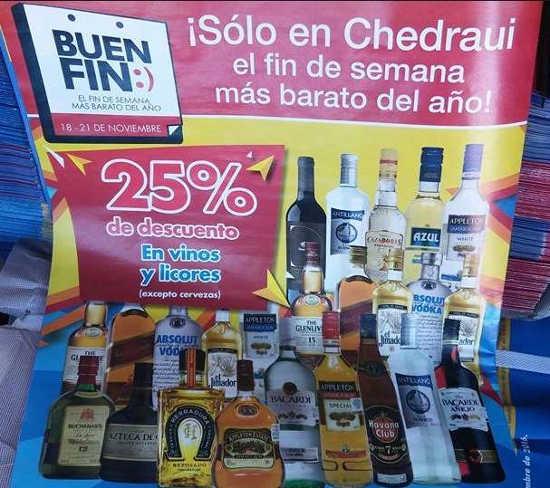 Folleto de Promociones del Buen Fin 2016 en Chedraui