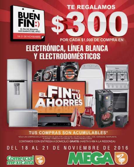 Comercial Mexicana Folleto de Ofertas del Buen Fin 2016