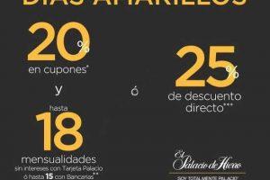 Días Amarillos Palacio de Hierro 2 y 3 de Diciembre 2016
