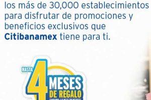 El Buen Fin 2016 Banamex Hasta 4 Meses de Regalo