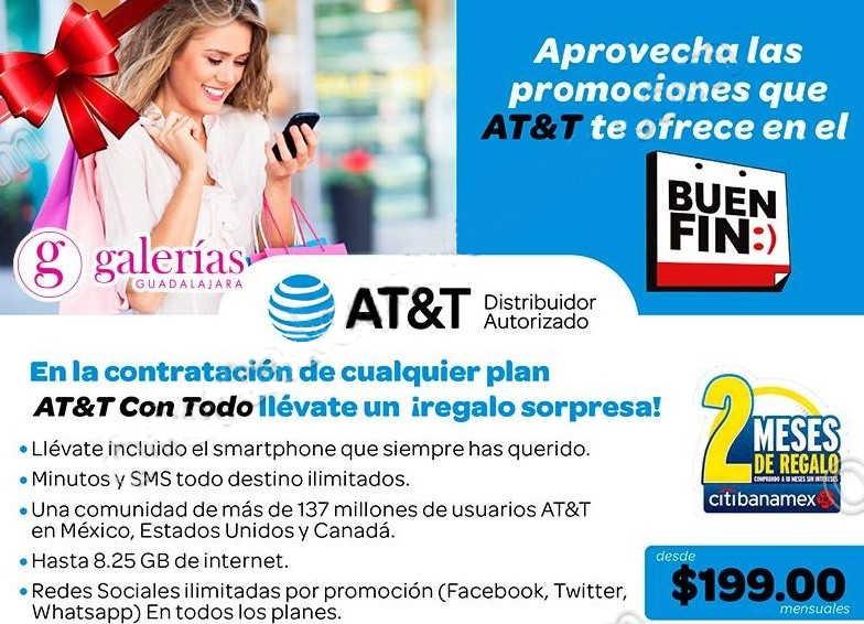 Promociones del Buen Fin 2016 en AT&T