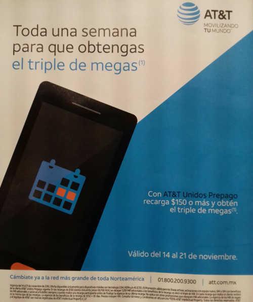El Buen Fin 2016 en AT&T Triple de Megas