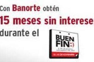 Promociones del Buen Fin 2016 en Banorte
