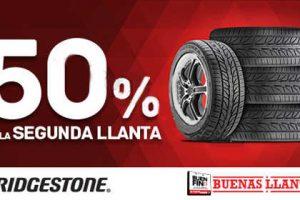Ofertas del Buen Fin 2016 en Bridgestone