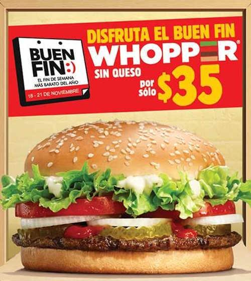 El Buen Fin 2016 en Burger King, McDonald's, Panda Express y P. F. Chang's