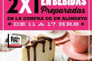 El Buen Fin 2016 en Cielito Querido Café 2x1 en bebidas