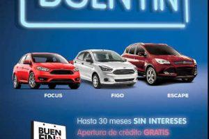 Promociones del Buen Fin 2016 en Ford