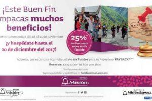 El Buen Fin 2016 en Hoteles Misión