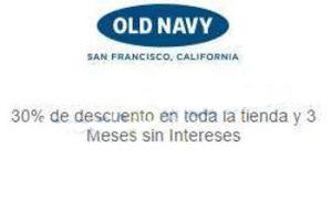 El Buen Fin 2016 en Old Navy