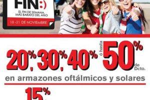 Ofertas El Buen Fin 2016 en Ópticas Lux