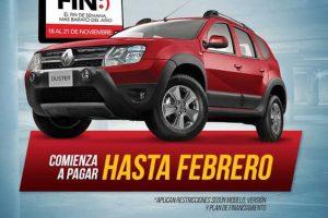 Ofertas del Buen Fin 2016 en Renault
