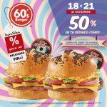 El Buen Fin 2016 en Sixties Burger, Neve Gelato y Mr. Sushi