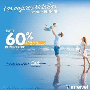 El Buen Fin 2016 Interjet hasta 60% de descuento